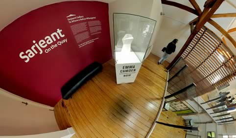 Explore a 360 tour of Emma's latest exhibition at the Sarjeant Gallery in Whanganui